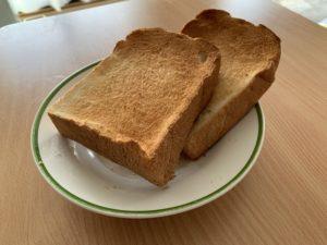食パン開封後写真