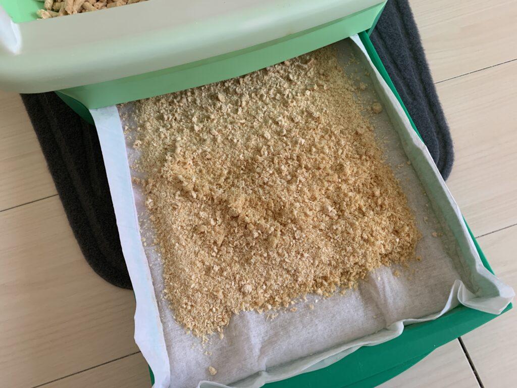 猫砂の写真